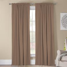 Kohinor ''Single Panel'' Blackout Curtain-Beige