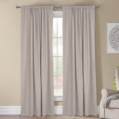 Kohinor ''Single Panel'' Blackout Curtain-Ecru