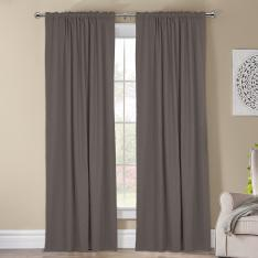 Kohinor ''Single Panel'' Blackout Curtain-Grey
