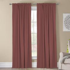 Kohinor ''Single Panel'' Blackout Curtain-Rose Pink