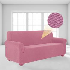 Stretch Elastic Lycra Sofa-Armchair Cover-Baby Pink
