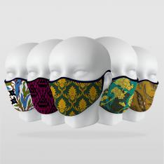 ''Cipcici Design Series'' 5 Piece Mask Series