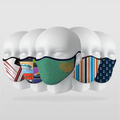 Çocuk Modelleri-1 5 Adet Maske Seti