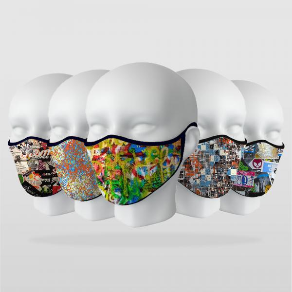 ''Hipster Modeller'' 5 Adet Maske Seti