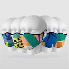 ''Matisse Serisi'' 5 Adet Maske Seti