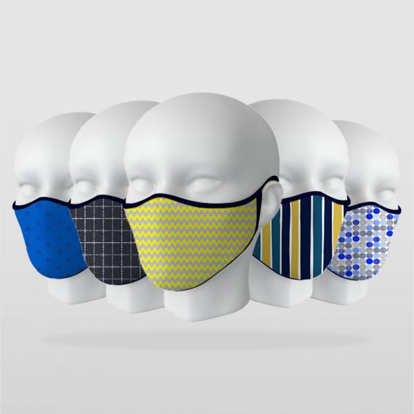 ''Sade Modeller'' 5 Adet Maske Seti