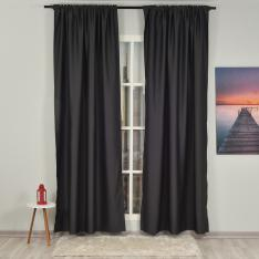 Anthracite ''Single Panel'' Blackout Curtain