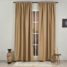 Barley ''Single Panel'' Blackout Curtain