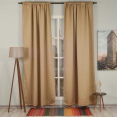 Camel ''Single Panel'' Blackout Curtain