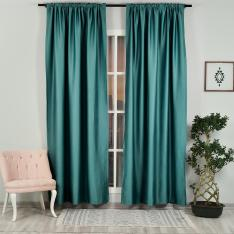 Teal ''Single Panel'' Blackout Curtain