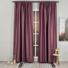Dark Pink ''Single Panel'' Blackout Curtain