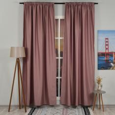Pink ''Single Panel'' Blackout Curtain