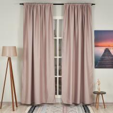 Blush ''Single Panel'' Blackout Curtain