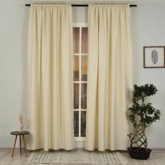 Champagne ''Single Panel'' Blackout Curtain