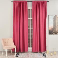 Şugar Pink ''Single Panel'' Blackout Curtain