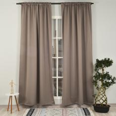 Mink ''Single Panel'' Blackout Curtain